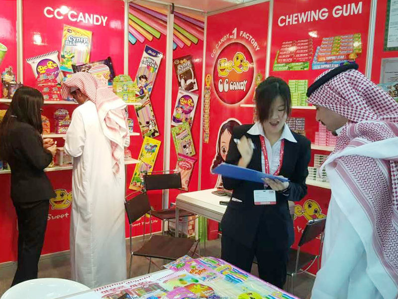 Our company participated in the exhibition activities silhouette